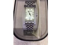 Ladies silver Armani Watch