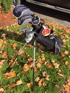 "US KIDS Golf Clubs -RH 63"" Ultra-Light SET -- used one season"