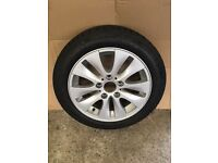 "BMW 16"" Alloys Continental 195 / 55R 16 Snow Tyres"