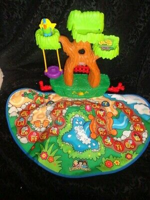 Fisher Price Little People Alphabet ABC A to Z Learning Zoo Treehouse Mat Only