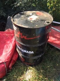 Used Oil Drum