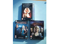 Battlestar Galactica DVD Box Sets Seasons 1 to 3