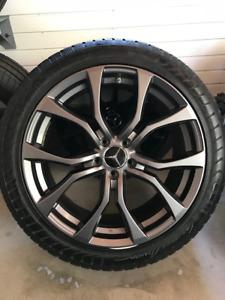 4 Mags RWC Wheels et pneus d'hiver 20'' Vredestein Wintrac Xtrem