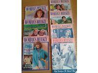 Vintage Woman's Weekly magazines
