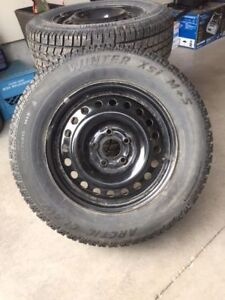 Snow Tires and Rims in excellent condition