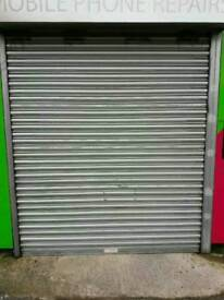 Electrically Operated Shop Shutters x 3