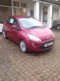 Ford Ka 1.2 Zetec, Air Con, One owner FSH. Long MOT. Immaculate Condition