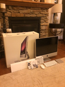 "Apple iMac 24"" Mid 2007 Core 2 Duo 2.4GHz / 4GB Ram / 320GB HDD"