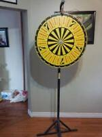 Prize wheel, Crown and Anchor wheel for Stag`s $150.00 gets it,