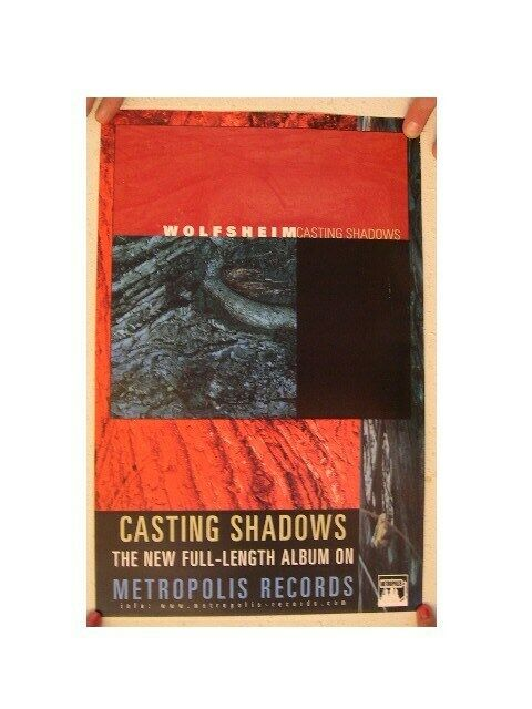 Wolfsheim Poster Casting Shadows