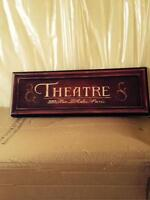 Nice Paris sign for home theatre room