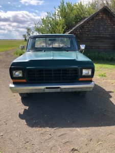 1978 ford half ton two wheel drive
