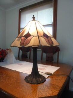 beautiful lead light lampshade