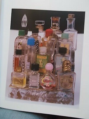 Commercial Fragrance Bottles Book Vintage Glass Perfume