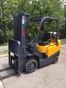 RENTAL - LEASE A BRAND NEW 5000lb Cushion Tire Propane FORKLIFT - CHECK IT OUT!!