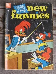 Walter Lantz New Funnies No. 192, Feb 1953 – Woody Woodpecker