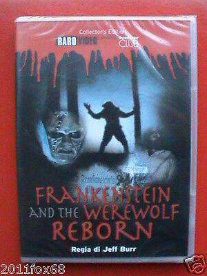 Frankenstein and the Werewolf Reborn Jeff Burr Ben Gould Cafagna Nuovo Sigillato