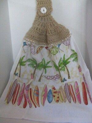 Crochet Kitchen Towels (Beach Theme) ~ **Gift Idea - Beach Theme Ideas