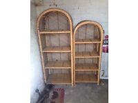 Wicker Unit / shelf / storage