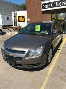 2011 CHEV MALIBU LS ONLY 74K!  CERT, E-TEST! NO ACCIDENTS!