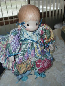 1/2 OFF PRICE  ~ RARE NEW PRECIOUS MOMENT PORCELAIN GIRL DOLL ~