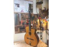 Gitane DG - 300 John Jorgenson Signature Gypsy Jazz Guitar with Hiscox Case. Alex Bishop Bridge.