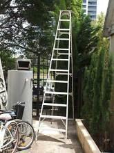 ladder3.6 m metre  a shape  A SHAPE  aluminium SINGLE SIDED Rhodes Canada Bay Area Preview