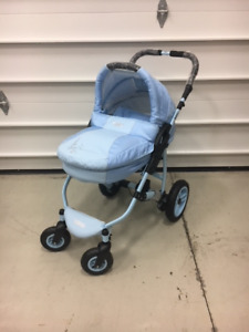 BRAND NEW STROLLERS AND BABY SWING NEVER USED.