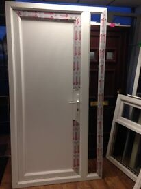 All White Upvc Door for Sale - Rare!