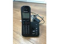 Panasonic home phone with answer machine