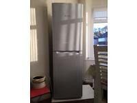 Hotpoint tall fridge-freezer, v good condition
