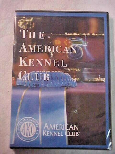 OFFICIAL AKC The American Kennel Club DVD NEW SEALED -Miniature Pinscher - $12.95