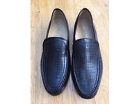 Barkers of Earls Barton, Jefferson Moccasin Black Shoes Size 12 G (wide) fitting