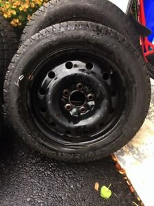 WINTER SNOW TIRES - 205/55R 16 - WEATHER MASTER S/T