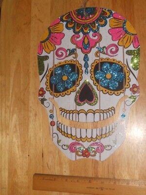 All Souls Day of The Dead Mexican Día de los Muertos Wall Door Hanging Skull - All Souls Day Halloween