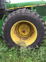 WANTED: USED TRACTOR TIRES