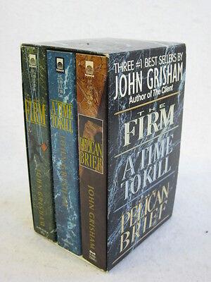 John Grisham THREE #1 BEST SELLERS Island Books 1993 in