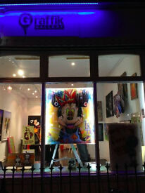 Interns required for Graffik Urban Art Gallery on Portobello Road
