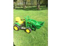 John Deere Electric ride on kids tractor