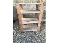 Wooden racks for garage storage - free - need to collect