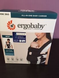 Ergobaby Omni 360 baby carrier - Brand New, still in box. Colour - Black
