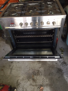 Stainless Steel Gas Electric Stove