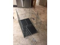 Dog crate (Size Medium - As new)