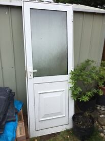 UPV locking door for sale - frame size 2ft 6in wide and 6ft 6in high