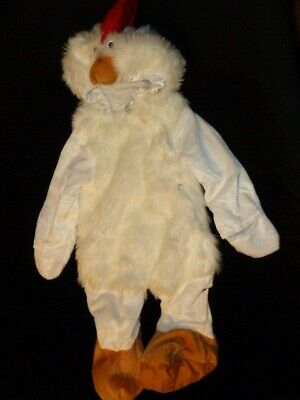 Celebration Creations Inc Baby Infant Halloween Costume Chicken Rooster 0-3-6-9