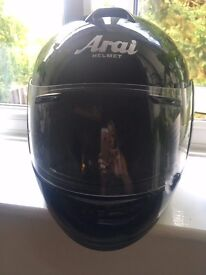 ARAI Axcess - 2 Motorbike Helmet Frost Black - Extra Small Fantastic Condition