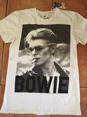 Vip Amplified David Bowie Live Santa Monica 1972 Rock Star Vintage T-Shirt XXL