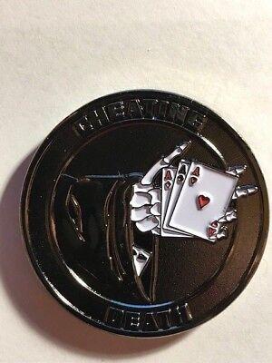 Cheating Death Coin  Cc 1948