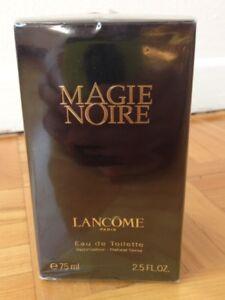 Parfum pour femme, Magie Noire 75 ml, de Lancôme, neuf, scellé e
