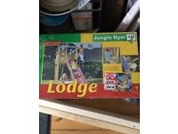 Jungle Gym Lodge Kit - Brand New in Box - Waterlooville